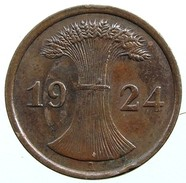 German Empire 2 Reichspfennig 1924 (A) - [ 3] 1918-1933 : Repubblica Di Weimar