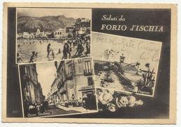 Saluti Da Forio Ischia 1953 - Napoli