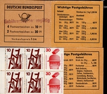 Markenheftchen Bund Postfr. MH 16 A Mit Aufdruck (1)  MNH ** - [7] République Fédérale