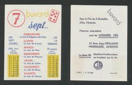 Buvard - LITHINES VEE - Laboratoires SAUBA - Blotters
