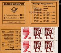 Markenheftchen Bund Postfr. MH 16 A Mit Aufdruck (2)  MNH ** - [7] West-Duitsland
