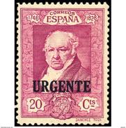 ES516STV-LFT***516STECU.Spain.Esgane.AVION,Retrato Del Pintor Goya.QUINTA DE GOYA.URGENTE.1930 (Ed 516**) - Correo Urgente