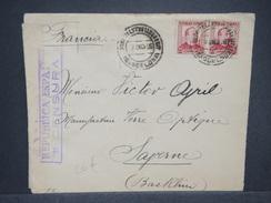 ESPAGNE - Enveloppe De Barcelone Pour La France En 1936 Avec Censure Militaire , Affranchissement Plaisant - L 6932 - Marcas De Censura Nacional