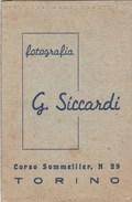 6308. Lp   Fotografia Siccardi Torino Cartoline Tessere Sviluppo Stampa - Vecchi Documenti