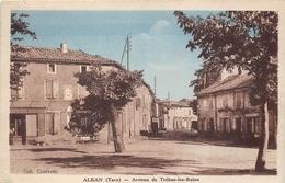 81-ALBAN- AVENUE DE TREBAS-LES-BAINS - Alban