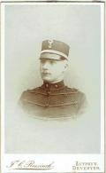 Photo CDV. Militaire. Foto Reesinck, Zutphen. Deventer. G.Marcus, 20-6-1873, Voir Dos. - Foto's