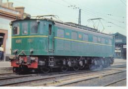 CPM Locomomotora Electrica 7011  EUROFER-AMICS DEL FERROCARRIL  Scans Recto Verso N° 876 - Trenes