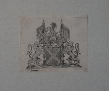 Ex-libris Héraldique Belge  XVIIIème - De Pape Van Glabbeeck (Brabant) - Ex Libris