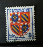 YT 834 -  Armoirie Bourgogne  - Oblitere - Frankrijk