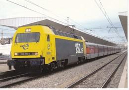 CPM Locomotora Electrica 252-015-3EUROFER-AMICS DEL FERROCARRIL  Scans Recto Verso N° 878 - Trenes