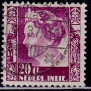 Netherlands Indies, 1934, Queen Wilhelmina, 20c, Scott# 176, Used - Netherlands Indies