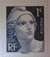 France - Mariane De Gandon 2015 ** - Issu Du Bloc - France