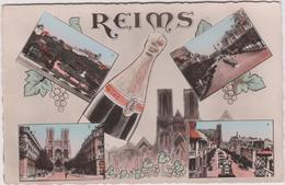 Marne : REIMS  : Vue   Champagne! - Reims