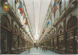 Bruxelles. Galeries St. Hubert  (scan Verso) - Bruxelles La Nuit