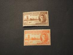 LEEWARD - 1946 VITTORIA  2 VALORI - NUOVI(++) - Leeward  Islands