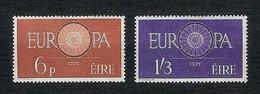 EIRE 1960 - Europa, Conference Emblem - MNH - Yv:IE 146-47 - 1949-... Repubblica D'Irlanda
