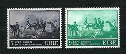 "EIRE 1975 - Europa, Detail ""Castletown Hunt"" - MNH - Yv:IE 317-18 - 1949-... Repubblica D'Irlanda"