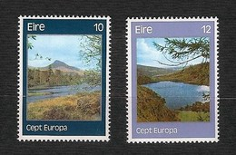 EIRE 1977 - Europa, Landscapes - MNH - Yv:IE 363-64 - 1949-... Repubblica D'Irlanda