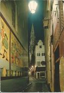 BRUXELLES - BRUSSEL. Petite Rue Des Bouchers. Tour De L'Hôtel De Ville.  (scan Verso) - Bruxelles La Nuit