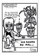 CPSM Absinthe Absintheur C. BAUDELAIRE Caricature Tirage Limité Illustrateur LARDIE - Lardie