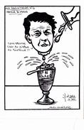 CPSM Absinthe Absintheur Arthur RIMBAUD Caricature Tirage Limité Illustrateur LARDIE - Lardie