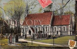 Methyr Mawr Church - Nr Bridgend - Carte Plastifiée - Pays De Galles