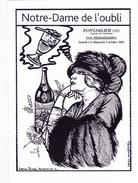 CPSM (25) PONTARLIER Notre Dame De L' Oubli Absinthe Absinthiade 2003 Caricature Tirage Limité Illustrateur LARDIE - Lardie