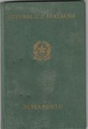 6312. Lp   Passaporto Italia 1963 Albergatrice Di Vercelli - Castel S. Pietro - Foto - Vecchi Documenti