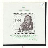 Rwanda YT  BF 12* : Martin Luther King - 1968