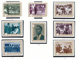 Rwanda YT  477/84 ** : Indépendance - 1972 - Rwanda