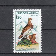 Andorre YT 275 ** : Perdrix Blanche - 1979