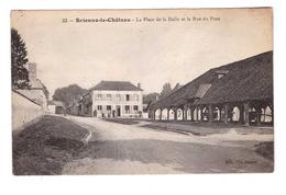 10 Brienne Le Chateau La Place De La Halle Et La Rue Du Pont Cachet Brienne 1928 - France