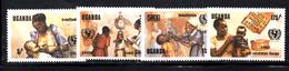 R1495 - UGANDA , Yvert N. 381/384  *** - Uganda (1962-...)