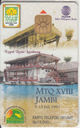 INDONESIA(chip) - MTQ XVIII JAMBI, Telkom Telecard Rp 13200, Tirage 3500, 09/97, Mint - Indonesien