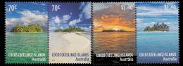 COCOS AUSTRALIE 491/94 Îles Et Îlots