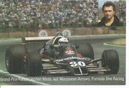 GRAND-PRIX - FAHRER JOCHEN MASS - AUF WARSTEINER-ARROWS - Motorsport