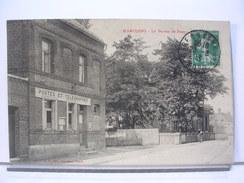 59 - MARCOING - LE BUREAU DE POSTE - 1913 - Marcoing
