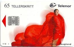 Norway - Telenor - Hanne Haugland - N-150B (Serial C96032841) - 09.1999, 10.025ex, Used - Norway