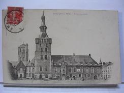 59 - BAILLEUL - HOTEL DE VILLE - 1908 - Autres Communes
