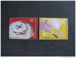 Polynésie: TB Paire N° 627 Et N° 628, Neufs XX. - Neufs