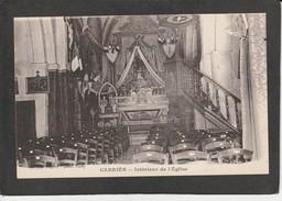 CABRIES - Intérieur De L' Eglise - Francia