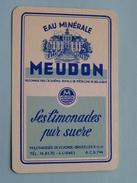 Eau Minérale MEUDON Bruxelles / JOKER ( Details - Zie Foto´s Voor En Achter ) !! - Carte Da Gioco