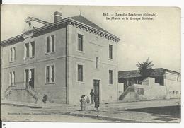 Lamothe -Landernon   Mairie Et Groupe Scolaire - France
