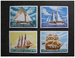Polynésie: Série N° 115 Au N° 118 ,neufs XX . Cote = 45.50 Euros. - Neufs