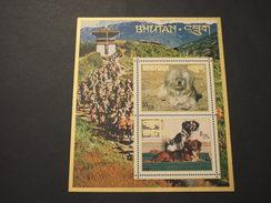 BHUTAN - BF 1972 CANI - NUOVO(++) - Bhutan