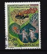 MONACO - Mi-Nr. 2174 Nationales Komitee Zur Bekämpfung Von Tuberkulose Und Lungenkrankheiten Gestempelt - Monaco