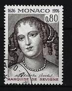 MONACO - Mi-Nr. 1240 - 350. Geburtstag Von Marie Marquise De Sévigné Gestempelt - Monaco