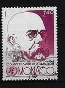 MONACO - Mi-Nr. 1537 - 100. Jahrestag Der Entdeckung Des Tuberkulose-Erregers Durch Robert Koch Gestempelt - Monaco