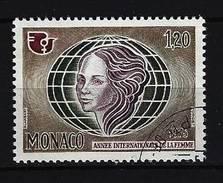 MONACO - Mi-Nr. 1181 Internationales Jahr Der Frau Gestempelt - Monaco