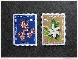 Polynésie: TB Paire N° 128 Et N° 129, Neufs XX. Cote = 4.00 Euros. - Neufs
